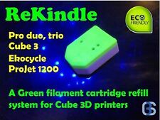 ReKindle - Refill your 3D Systems Cube Pro, Cube X, & Cube 3 Filament Cartridges