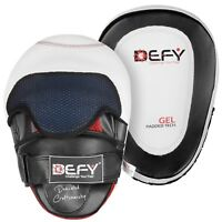 DEFY Gel Padded Punch Mitts Boxing Pads Focus Mitts Punching Pads MMA PAIR