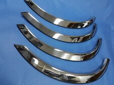 CHROME STAINLESS STEEL FENDER TRIMS SET FOR 1979-1991 MERCEDES BENZ W126 S-CLASS