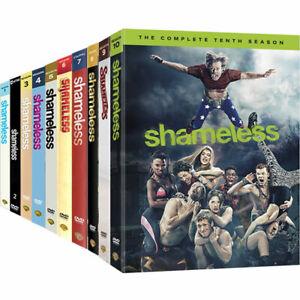 Shameless: Seasons 1,2,3,4,5,6,7,8 9,10  DVD Set