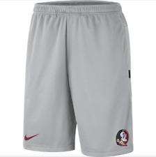 Nike Florida State Seminoles FSU Dri-FIT Shorts Men's size Large Gray Garnet