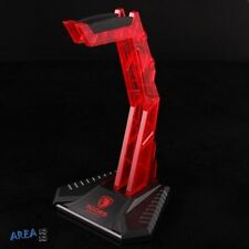 SADES Headphone holder Stand for Sony Razor Logitech Gaming Headset Acrylic Red