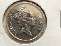 1990 Fiji Five (5) Cents Coin