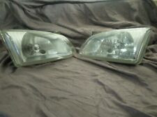 Toyota JDM Reflect Ep91 Starlet Glass Headlights With 3 Raised Lines Like Glanza