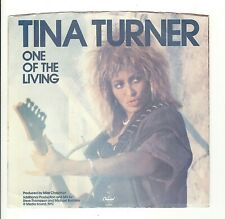 45RPM, TINA TURNER ' ONE OF THE LIVING (FROM MAD MAX LP) M- '  ROCK