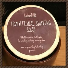 2 X Traditional Shaving Soap, Natural, Organic, Handmade