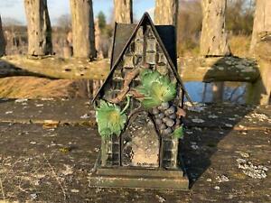 Metal Grapevine Garden Outdoor Lantern Candle Holder Great Value