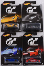 2016 GT Gran Turismo Set 4 pcs Skyline GT-R LM Pagani LP 570-4 1:64 Hot wheels