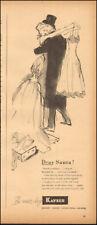 1947 Vintage ad for Kayser`art retro hosiery gloves Lingerie 120517