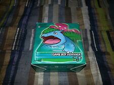 Game Boy Advance GBA SP Green Pokemon Center Venusaur Fushigibana Complete RARE!