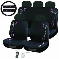 Dolphin Car Seat Cover Set Universal Fit