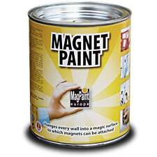 Magnetic Paint by MagPaint 1.0 litre (2sqm coverage) (Pack of 1)