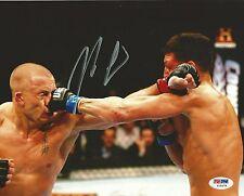 Nick Diaz Signed UFC 8x10 Photo PSA/DNA COA 158 v Georges St-Pierre Picture Auto