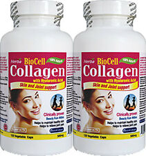 BioCell Collagen x 2 Bottles (240 Caps) Top quality collagen,clinically tested