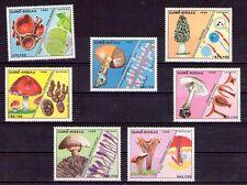 Guinea Bisau Micologia Setas Serie del año 1988 (W-472)