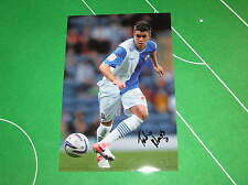 Blackburn Rovers Fabio Nunes Signed Press Quality Action Photograph