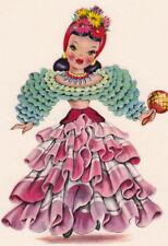 Counted Cross Stitch Pattern Chart Graph - International Doll Brazil Brazilian