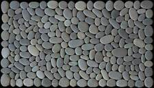 STONE PEBBLE DOOR MAT, bespoke handmade from New Zealand stones