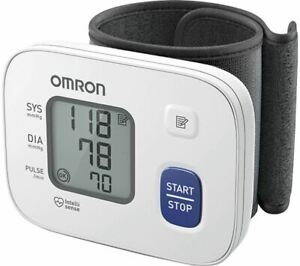 Omron RS2 Automatic Wrist Blood Pressure Monitor with Cuff Wrap Guide