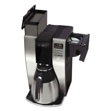 Mr. Coffee Optimal Brew 10-Cup Thermal Programmable Coffeemaker Black/Brushed