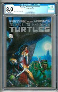 Teenage Mutant Ninja Turtles #13 (1988) CGC 8.0  White Pages  Michael Dooney