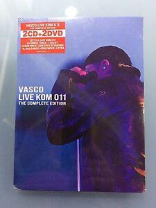 CD VASCO ROSSI LIVE KOM 011 2 CD 2 DVD NUOVO E SIGILLATO SPEDIZIONE RACCOMANDATA