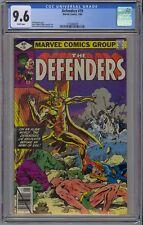 Defenders #79 CGC 9.6 NM+ Wp Vs Army of Evil Marvel Comics 1980 Hulk Dr. Strange