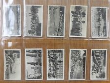 HOMELAND EVENTS - WILL'S - Complete Set Of 54 - 1932 - VG+/EX
