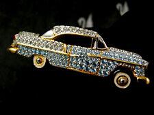 SIGNED SWAROVSKI CYRSTAL 1955~1957 CHEVROLET CAR  PIN~BROOCH  NWT RARE RETIRED!!