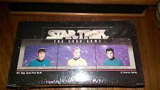 1996 Star Trek The Card Game CCG Starter Decks Box Sealed