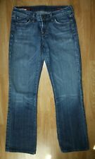 Citizens Of Humanity Womens Kelly #001 Stretch Low Waist Boot Cut Jeans Size 27