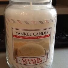 Yankee candle churned ice cream USA limited summer edition