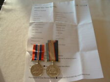 WW11 AUSTRALIAN MEDAL PAIR NAMED TO NX104548 F.H.ARMSTRONG