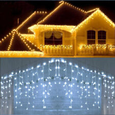Icicle Snowing Effect Lights Christmas Xmas LED 960/720/480/240/ Outdoor/Indoor