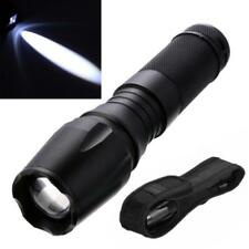 15000LM Zoomable Focus T6 XML Tactical LED Flashlight Torch Night Light Large