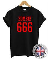 Rob Zombie T-Shirt Metal Rock Goth Horror Punk 666 tee shirt