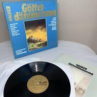 Janowski/Kollo/Nocker WAGNER Gotterdammerung - Eurodisc 301 817-468 Box Set M060