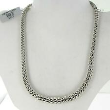 """John Hardy Classic Chain 13mm Graduated Necklace 18"""" Sterling Silver NWT $1995"""