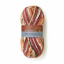 Skeins of Lion BRAND Woolspun Yarn Mesa Print