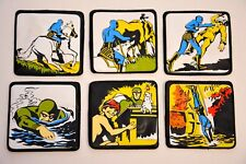 The Phantom Magnet Set of 6 - 1974 King Features Syndicate
