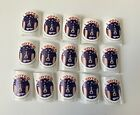 George Rodrigue Blue Dog 2016 Presidental Election Voting Stickers Lot Of 15