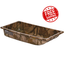 Shappell Camo Jet Sled Jr Decoy Hunting Gear Hauler Big Game Pull Ice Fishing