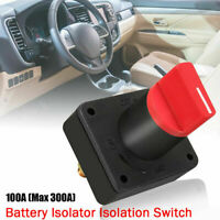 NEW 12V BATTERY ISOLATOR SWITCH CUT OFF DISCONNECT TERMINAL CAR VAN BOAT UK