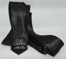 "CLAN CAMPBELL WHISKY Cravate ""Staff"" neuf"