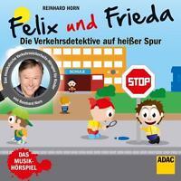 Horn,Reinhard - Felix & Frieda-Verkehrsdetektive (Musikhörspiel) - CD NEU