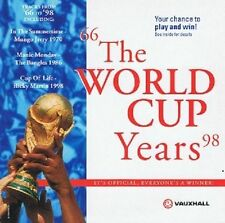 The World Cup Years CD Album Promo Sony 1998