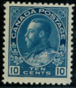Canada  Stamps #117 mnh blue 10 cent FVF