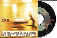 CD CARTONNE CARDSLEEVE COLLECTOR 3 TITRES BLUR DANCEHALL EDIT. LIMITÉE 1997