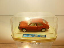 MIRA 4006 SEAT 1200 SPORT (FIAT) - BROWN 1:43 - VERY GOOD IN SHOW-CASE