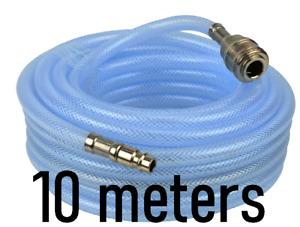 10M 33ft Reinforced PVC Air Compressor Rubber Air Hose Air Line  6*11mm 300PSI